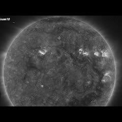 MASSIVE Unknown Object Visits The Sun 2/4/17 - UFO's Re-Charging