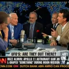 Shermer on Larry King Live with the UFOlogists & Buzz Aldrin